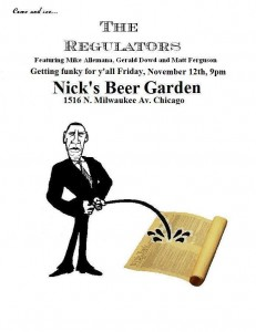 Regulators flyer Nov 12th 2010